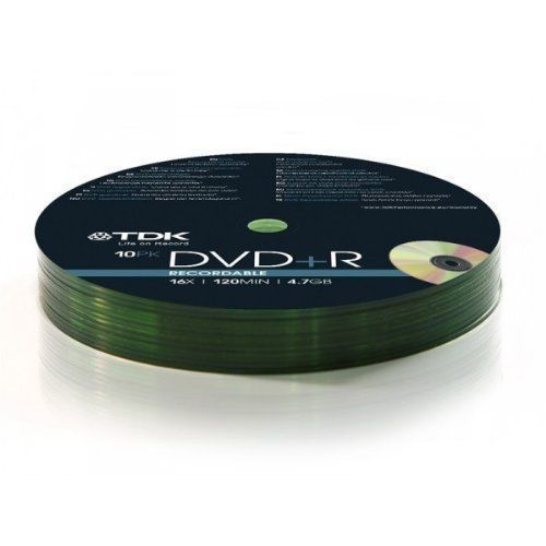 DVD +R Pack of 10